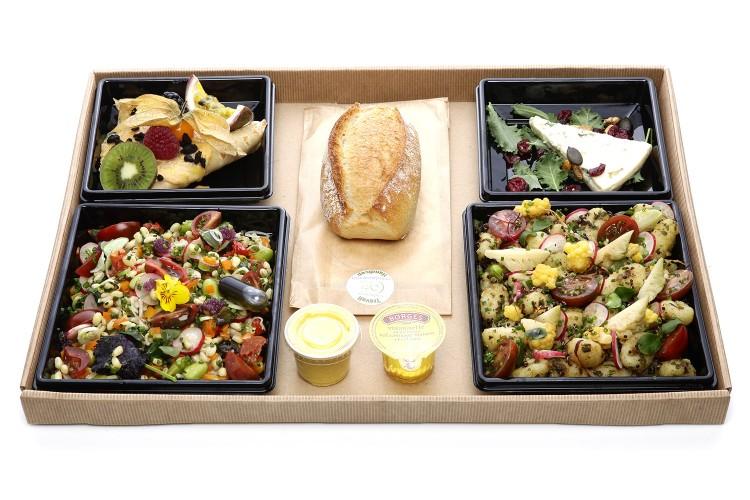 """""""Le Végétarien"""" Plateau repas"""